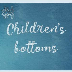 Children's bottoms