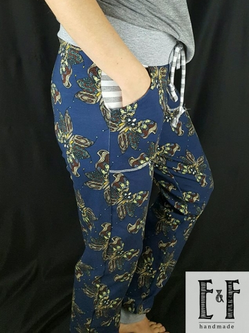 Ladies Inset Pocket Pants